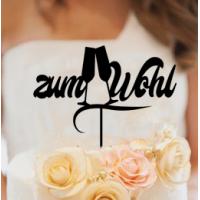 Hochzeit Tortenstecker zum Wohl