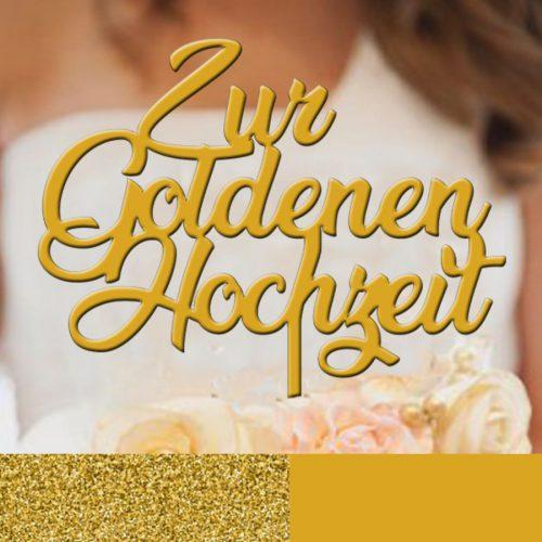 tortenpics-tortenstecker-Goldene_hochzeit